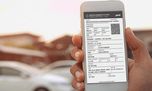 CRLV Digital Imprimir e App