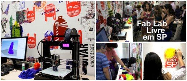 Fab Lab Livre SP Oportunidades De Desenvolvimento De Projetos