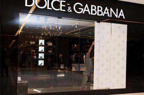 Dolce e Gabbana Moda De Luxo