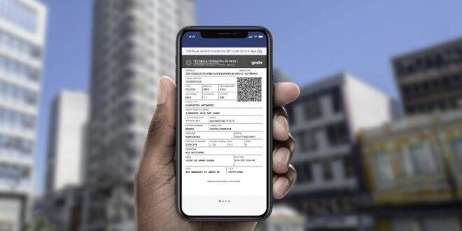 Licenciamento Anual Digital CRLV