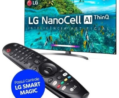 TV LG NanoCell Inteligência Artificial