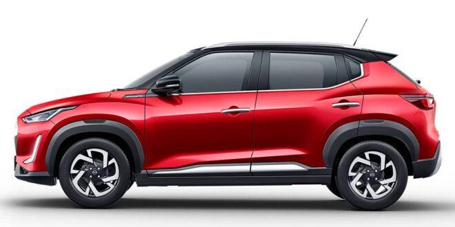 Nissan Magnite Lançamento No Brasil De Lado