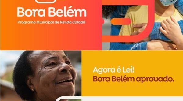 Bora Belém Ajuda Emergencial Renda Mensal
