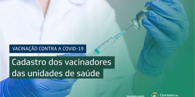 Cadastro de Vacinação Saúde Governo do Ceará