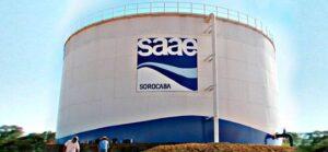 SAAE Saneamento Sorocaba SP