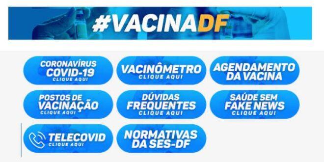 Cadastro Agendamento Vacina DF