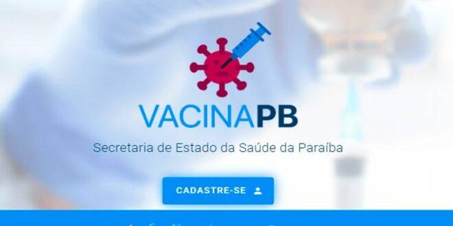 Cadastro Vacina-PB Vacinação
