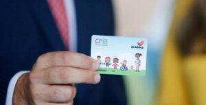 Cartão Cria Governo de Alagoas
