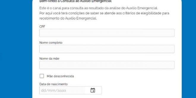 Auxílio Emergencial Informais