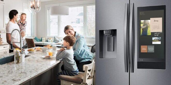 Geladeira De Luxo Samsung Family Hub